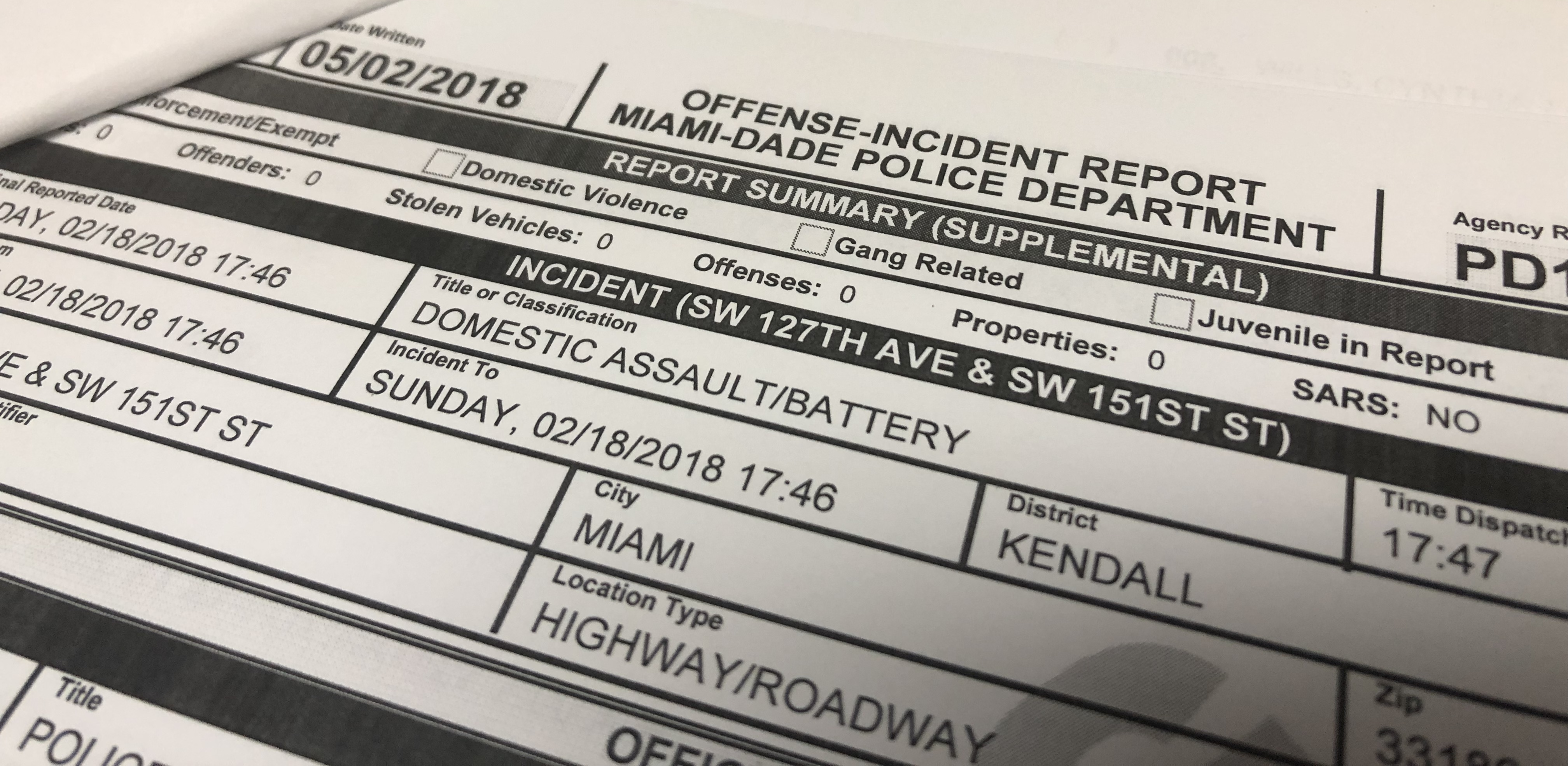 Are Police Reports Magical?